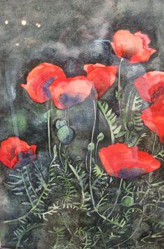 Jane Galvin: Poppy Tangle
