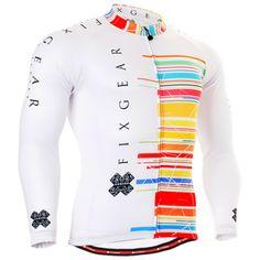 0a0cc2da0 ZIPRAVS - Fixgear Men s Bicycle Jersey Colorful Unique Cycling Top Clothes