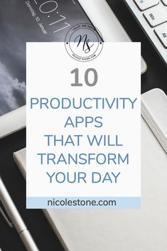 These 10 productivity apps will make your career, and your life, so much easier. Feeling overwhelmed?I have just the cure. It's a combination of technology and organization. I've collected my favorite productivity apps, and broke down every detail as to why you need them. So read this list, use this