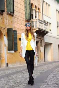 www.elenandthecity.com Yellow for this spring summer 2014.
