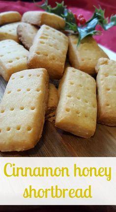 Cinnamon honey shortbread Pin It