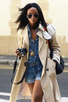 Como usar jeans com jeans? Double denim sem segredos em 25 looks de street style garimpados para você se inspirar - artigo de taofeminino.com.br