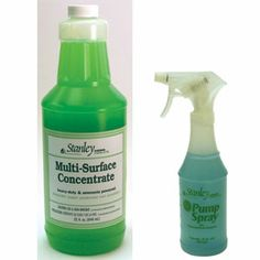 Multi-Surface Concentrate + Pump Spray Made in USA Multi-Surface Concentrate Our heavy-duty dirt buster is ammonia-powered. Cleans any hard, washable surface: window sills, counters, screens, outdoor furniture, boats, bathroom and kitchen fixtures and much more. Concentrated to save you money. Biodegradable. 32 fl.oz. Item #:A68303 http://FullerDirect.com/9500731
