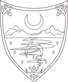 Waterdeep, Coat Of Arms, Symbol, Forgotten Realms Coloring Sheets, Coloring Books, Forgotten Realms, Coat Of Arms, Resin Art, Free Pictures, Dungeons And Dragons, High Quality Images, Art Images