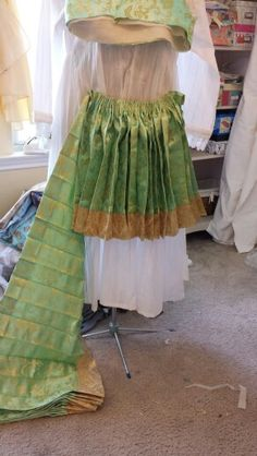Accordion pleats all ironed.halfway done cartridge pleating Albania, Greece, Traditional, Costumes, History, Skirts, Fashion, Greece Country, Moda