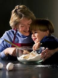 baking with grandma - I am having so much fun in the kitchen with mine!