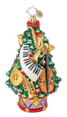 Christmas Time Is Here, Merry Christmas And Happy New Year, Christmas Holidays, Radko Christmas Ornaments, Christmas Decorations, Vintage Ornaments, Glass Ornaments, Holiday Lights, Holiday Fun