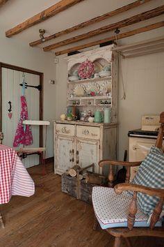 Kitchen with Rayburn