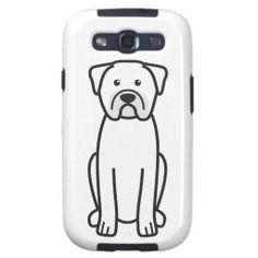 Dogue de Bordeaux Dog Cartoon Samsung Galaxy S3 Covers