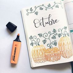 Wow, goalz. repost from @astudentsjournal - Mi portada para el mes de Octubre . My page for October . (Inspiración de Pinterest) . #bujo #bulletjournal #bulletjournalenespañol #plannernerd #plannergeek #notebook #stationery #showmeyourplanner #bujoinspire #discoverbulletjournal #stationeryaddict #plannercommunity #bujojunkies #bujoaddict #bujobeauty #bulletjournalnewbie #bulletjournalcollection #bulletjournalcommunity #planwithme #bulletjournalideas #octoberbujo #pumpkin
