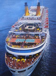 Costa Charles Trenet, Royal Caribbean Cruise, Holiday Resort, Beautiful Moon, Rotterdam, Costa, Travel Destinations, Cruise Ships, Resorts