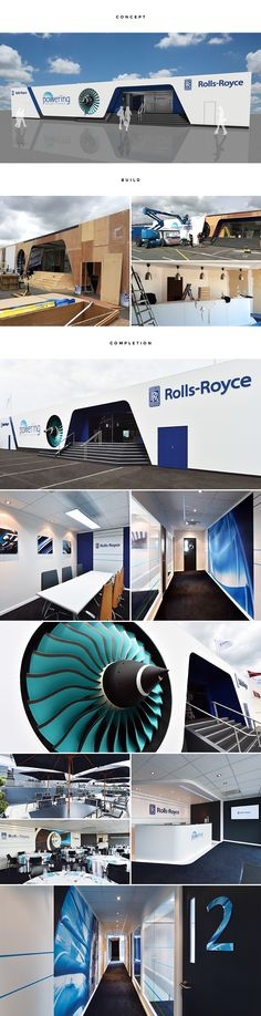 Promoting 100 years of Rolls-Royce delivering innovation in the aerospace industry. Dedicated project management and superior design and build ensured excellence was again delivered to Rolls-Royce. Designed and built by RTH. #exhibitiondesign