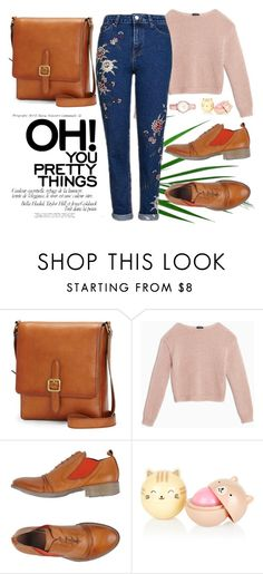 """""""Schooltime  :)"""" by melli-ssa ❤ liked on Polyvore featuring Frye, Max&Co., TSD12, Topshop, school, pretty, denim and look"""
