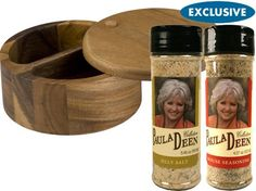 Silly Salt and House Seasoning with Salt Box (3-pc.) by Paula Deen