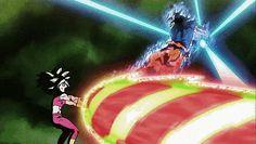 UI Goku Kamehameha Blasts Kefla