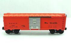 O Lionel D RGW Rio Grande Denver 9705 Orange Box Car 6 9705 | eBay