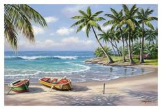 Tropical Bay Art by Sung Kim at AllPosters.com