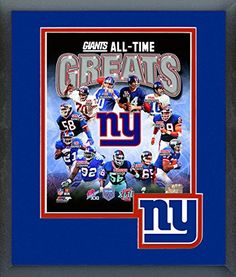 New York Giants All Time Greats Framed With Team Color Double Matting Ready To Hang- Awesome & Beautiful-Must For A Championship Team Fan! All Most Team Players Available-Please Go Through Description & Mention In Gift Message If Need A different Team. Art and More, Davenport, IA http://www.amazon.com/dp/B00O918MMY/ref=cm_sw_r_pi_dp_j0tpub1CBMBDX