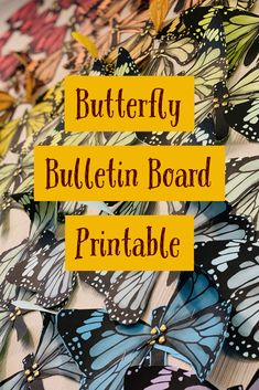 Teach the butterfly life cycle and accent your room with this butterfly template. Just print of different colors of paper to create a rainbow of butterflies! Heart Template, Butterfly Template, Crown Template, Flower Template, Butterfly Bulletin Board, Bulletin Boards, Butterfly Project, Thinking Of Someone, Butterfly Life Cycle
