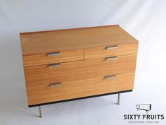 590 Ladekast Stagg Chest of Drawers Vintage Retro 70s