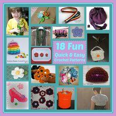 18 Fun Quick & Easy Crochet Patterns