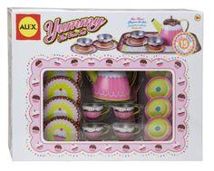 ALEX® Toys - Pretend & Play Yummy Tin Tea Set 703W Alex Toys http://www.amazon.com/dp/B006X2AF0E/ref=cm_sw_r_pi_dp_-s--tb0MK86Y1