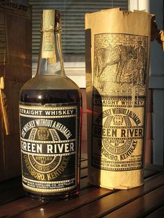 Green River Whiskey Bonded Fall 1910 -Spring 1917