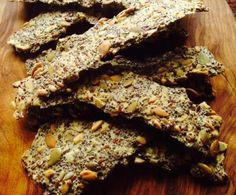 Recipe Seedy Gluten-Free Crackers by Panna Cotter - Recipe of category Baking - savoury