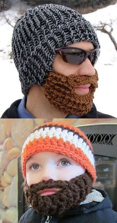 All of the men in my life need a beard hat. #realmenhavebeards