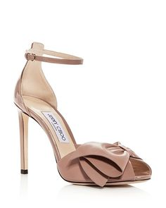 8f20d9959be990 Jimmy Choo - Women s Karlotta 100 High-Heel Sandals Leather High Heels