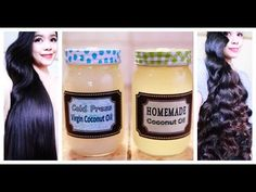 How To Make a Virgin Cold-Pressed Coconut Oil and Homemade Coconut Oil - YouTube