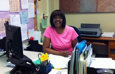 """MPS celebrates Administrative Professionals Day, saying thank you to the hundreds of dedicated staff members who make offices across the district run smoothly. They are staff members such as Lajuana Bates, the Head Secretary at Goodrich Elementary. Goodrich Principal Arlene Dansby-White says Ms. Bates is wonderful. """"She's pleasant, organized and very helpful to everyone who comes into our office."""" Superintendent Gregory Thornton adds his own appreciation for administrative professionals."""