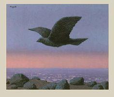 René Magritte - The Idol, 1965