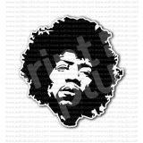 Jimi Hendrix Hard Rock Musician Singer Sticker