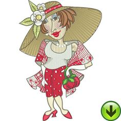 Dressed to Quilt Machine Embroidery Design | Download
