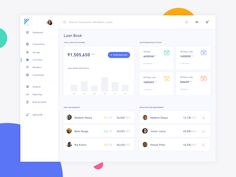 Loan Book - Loans - Great work from a designer in the Dribbble community; your best resource to discover and connect wi - Student Dashboard, Dashboard Design, Dashboard Ui, Book Design, App Design, User Experience Design, Ui Web, Apps, Web Design Inspiration