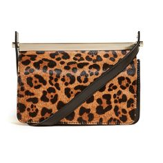 Botkier Crawford Cocktail Clutch ($200) ❤ liked on Polyvore featuring bags, handbags, clutches, leopard, leopard purse, animal print purses, brown purse, cocktail purse and evening clutches