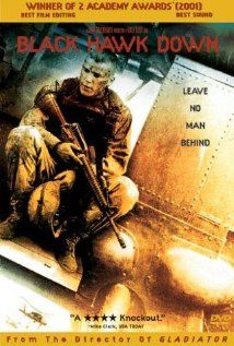 BLACK HAWK DOWN.  Director: Ridley Scott.  Year: 2001.  Cast: Josh Hartnett, Ewan McGregor and Tom Sizemore.
