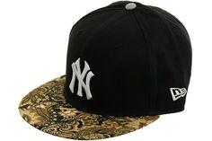 New Era New York Yankees Paisley Strapback Hat - Navy Blue, Tan
