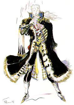Setzer Gabbiani - Pictures & Characters Art - Final Fantasy VI