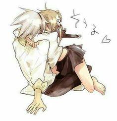 Maka and Soul kiss 5