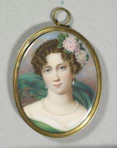 Louisa, Duchess of Saxe-Coburg-Saalfeld. 1854.