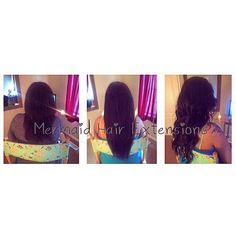 Mermaid Tape Extensions !  Instagram - @MermaidHairExtensionsXO www.MermaidHairExtensionsXO.com Mermaid Hair Extensions, Tape Extensions, Tapas, Dreadlocks, Instagram, Hair Styles, Beauty, Hair Plait Styles, Hair Makeup