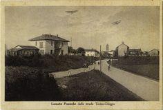 Lonate Pozzolo - Strada Ticino-Oleggio - Anni '30