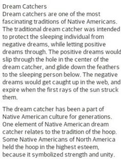 The Story Of Dream Catchers Story behind Dream Catchers Crafts Creative Ideas Pinterest 5