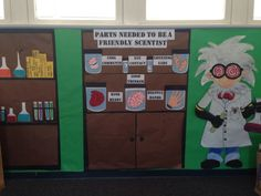 Mad scientist classroom theme