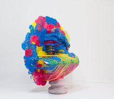 """Nick van Woert """"Poor Me"""" sculpture"""
