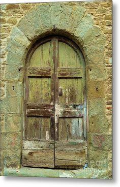 Rustic Tuscan Door Poster by Norma Brandsberg. All posters are professionally printed, packaged, and shipped within 3 - 4 business days. Fine Art Posters, Fine Art Prints, Old Doors, Barn Doors, Vintage Doors, Native Art, Artist At Work, All Art, Fine Art Photography