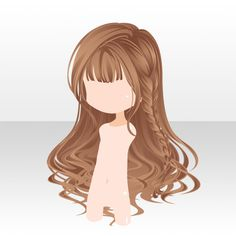 Everyday hair (please if you will I would prefer it if this one was used in the drawing Anime Girl Hairstyles, Kawaii Hairstyles, Chibi Hairstyles, Character Inspiration, Hair Inspiration, Character Design, Pelo Anime, Manga Hair, Hair Sketch