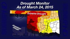 Al Sutherland and Gary McManus look at rainfall amounts from the past week and the latest drought monitor.
